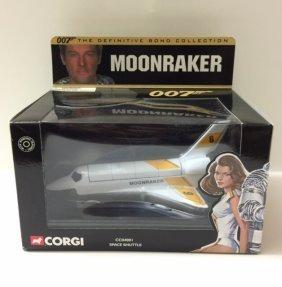 """Rare Corgi James Bond """"moonraker"""" Space Shuttle"""