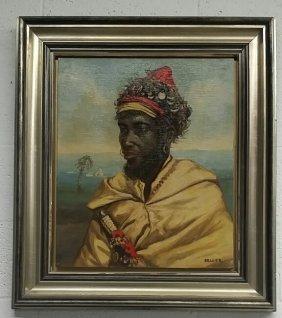Oil On Canvas Signed Beller