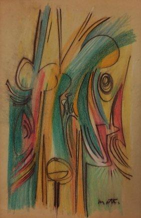 Attributed To Roberto Matta (chilean, 1911-2002)