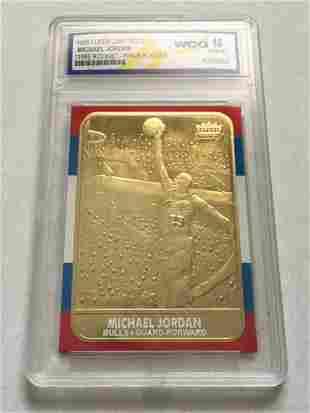 Gem 10 Michael Jordan Fleer Special Ed Rookie Card