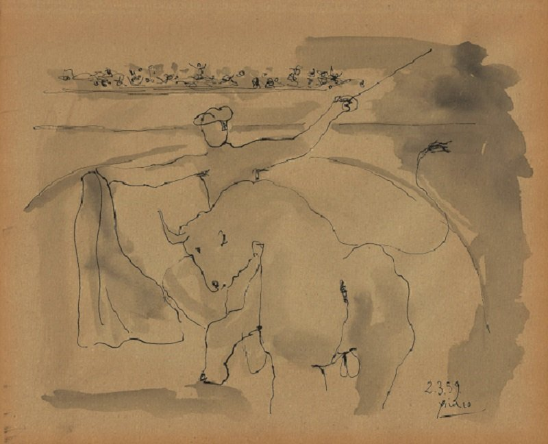 Attributed to: PABLO PICASSO (Spanish, 1897-1976)