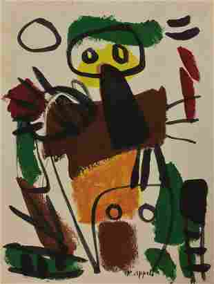 Attributed to: KAREL APPEL (Dutch, 1921-2006)