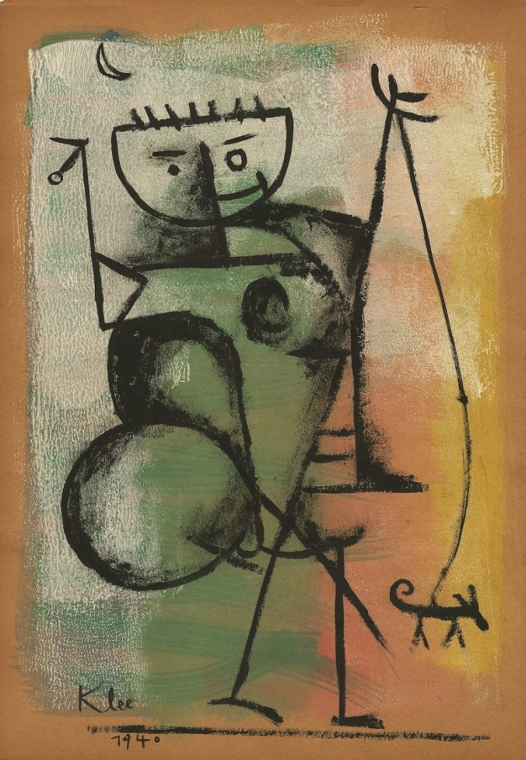Attributed to: PAUL KLEE (Swiss, 1879-1940)