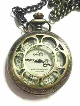 Vintage OMEGA Swiss Made Mechanical Pocket Watch