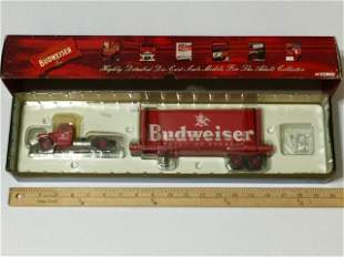 Rare CORGI 1:50 Scale BUDWEISER Die-Cast Truck