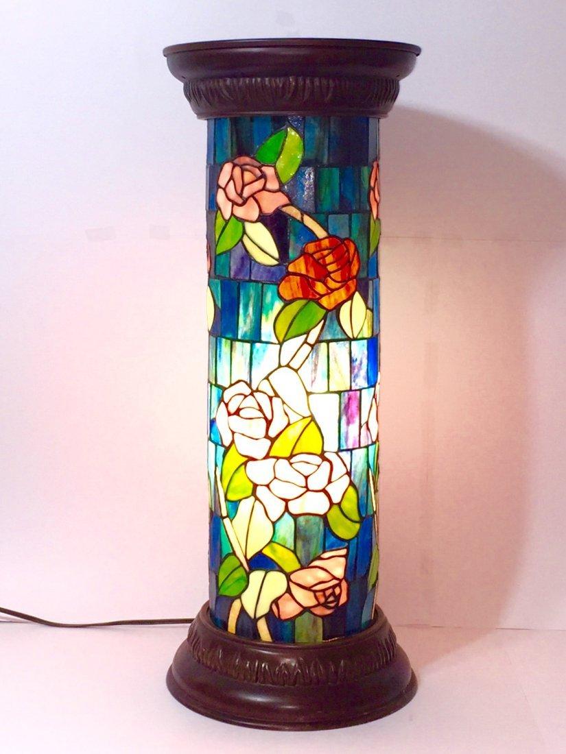"""Beautiful 31"""" - TIFFANY style Lamp Pedestal Base"""