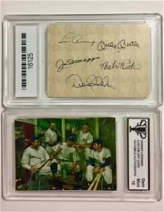 Gem 10 New York Yankee Legends Custom Art Card