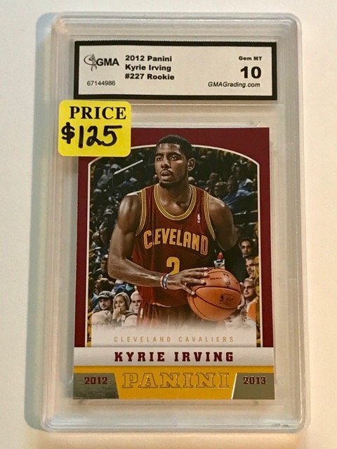 Gem Mint 10 KYRIE IRVING Rookie Basketball Card