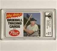 Rare Gem MICKEY MANTLE Advertising Baseball Card