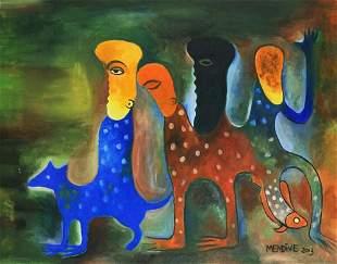 MANUEL MENDIVE (Cuban, born. 1944)