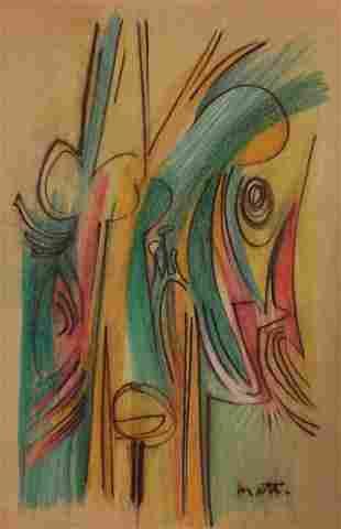 Attributed to: ROBERTO MATTA (Chilean, 1911-2002)