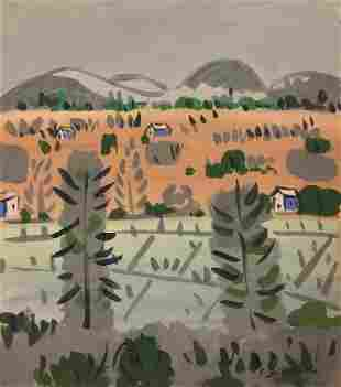 Attributed to: COLIN D. GRAHAM Canadian 1915-2010