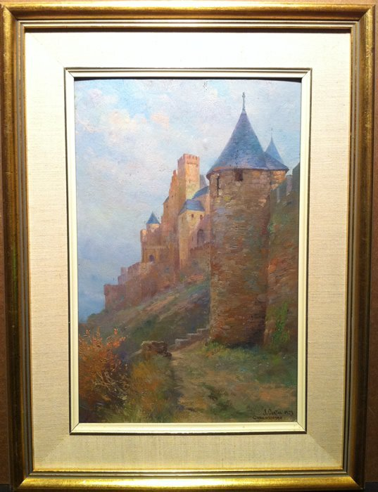 Jacques Ourtal (French, 1868-1962) -  Carcassonne