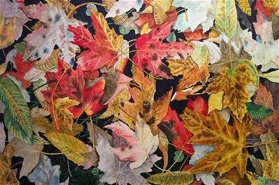 Autumn Leaves - Watercolour