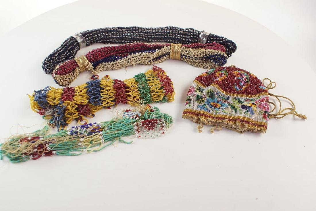 Collection of early beadwork