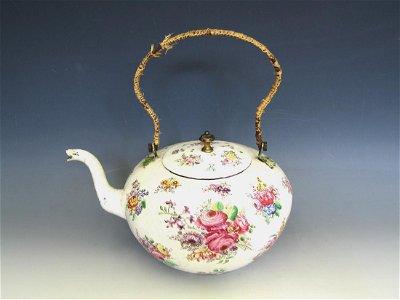 Extremely Rare  London Enamel Tea Kettle