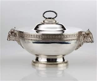 Magnificent Tiffany Silver Tureen C1855