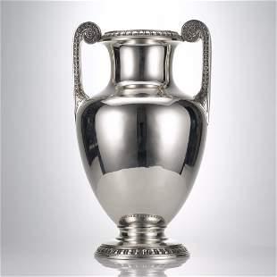 Graff, Washbourne & Dunn Silver Amphora Vase