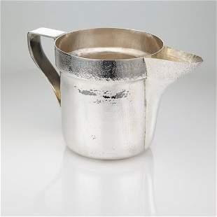 Buccellati Hand-Hammered Jug - Italian Silver