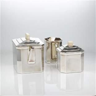 Art Deco Tea Set by Christofle C 1925