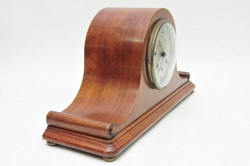 A Classical style Mantel clock with Roman numerals and