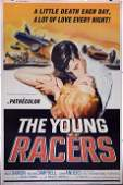 THE YOUNG RACERS (1963) speed racer hot rod poster