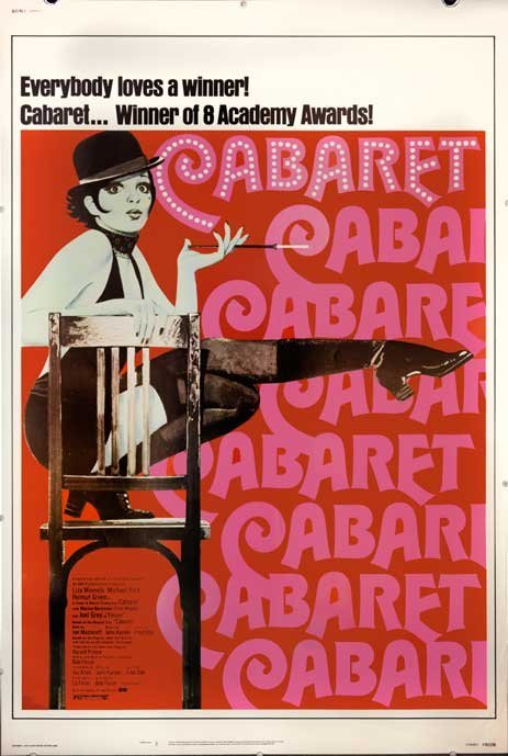 CABARET 1974 sexy Liza Minelli super rare size poster