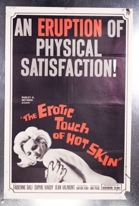 Erotic Touch Of Hot Skin (1966) 27x41 Sex Poster