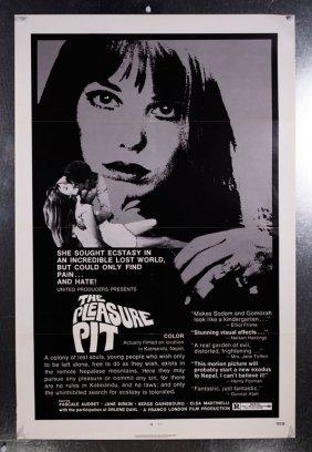 The Pleasure Pit (1971) 27x41 Sex Drugs Movie Poster