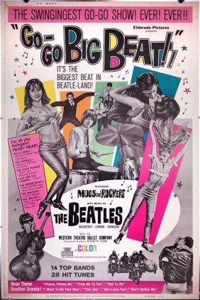 Go-go Big Beat (1965) Beatles Fleetwood Mac Poster