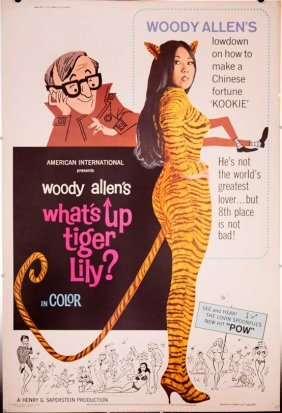 What's Up Tiger Lily? 1966 Sexy Giant Woody Allen