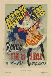 ALCAZAR D'ETE Cheret 1896 lithograph