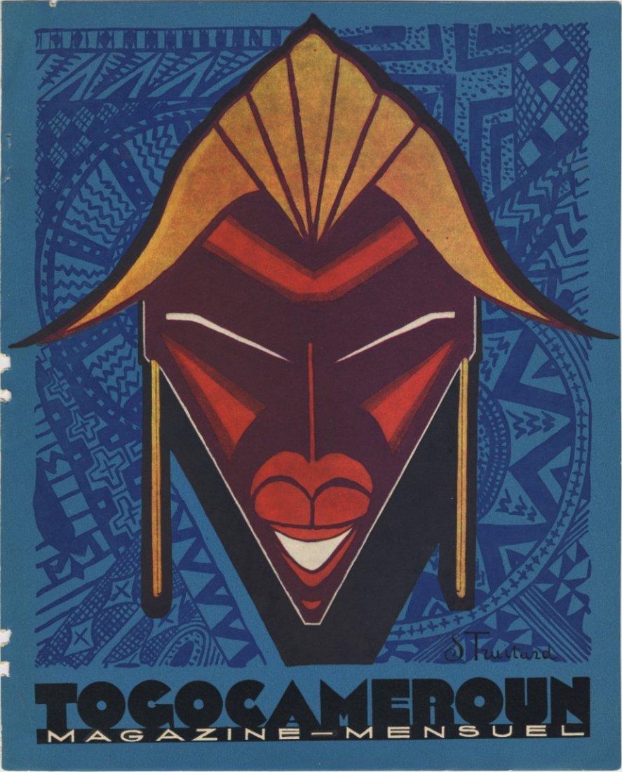 TOGO CAMEROUN 1929 travel lithograph