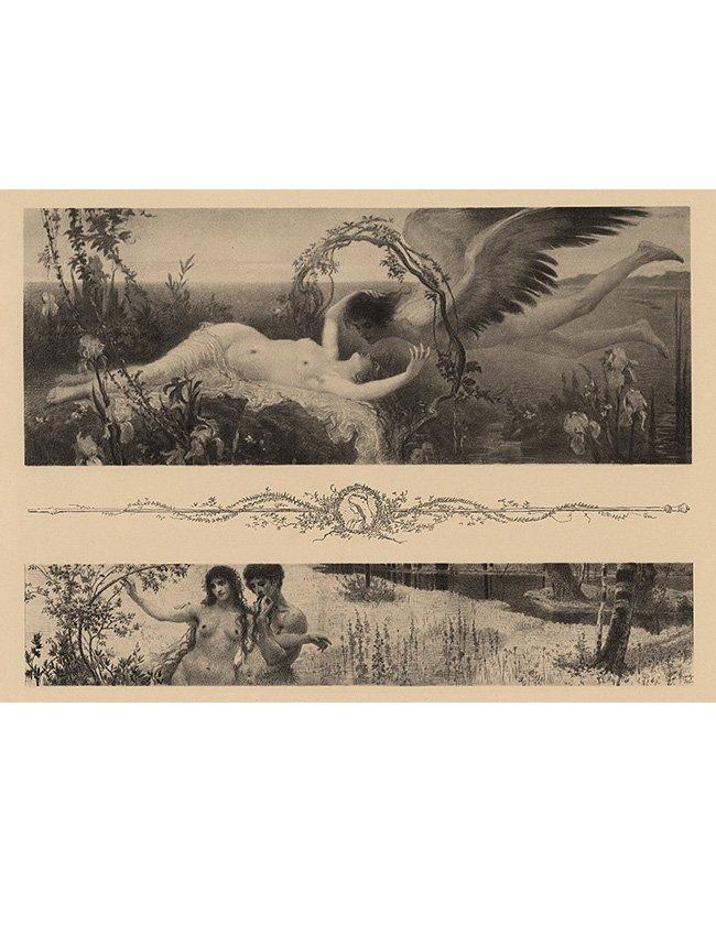 Love Symbolist lithograph 1895