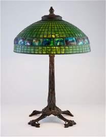 Tiffany Studios 'Turtleback' Table Lamp