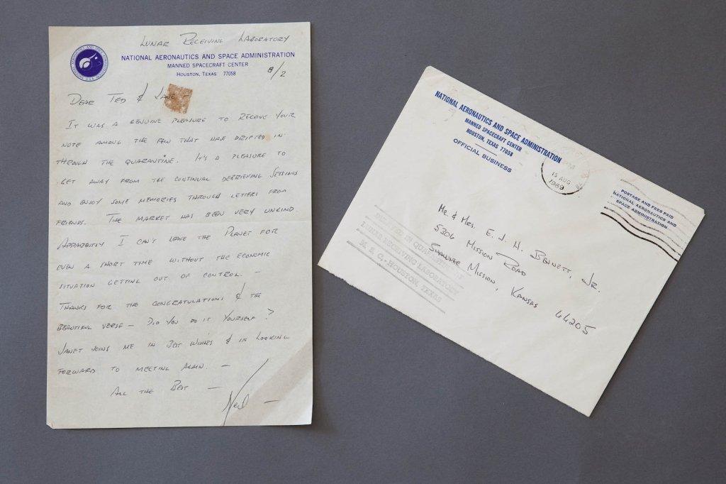 Neil Armstrong, NASA, Handwritten Letter