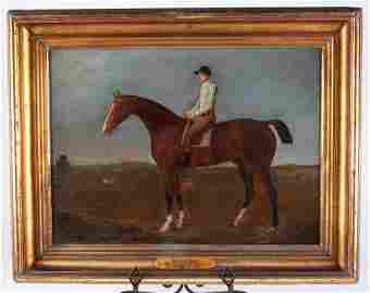 Early 19th c. English Oil on Canvas Painting