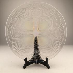 "Six R. Lalique ""Coquilles"" plates."
