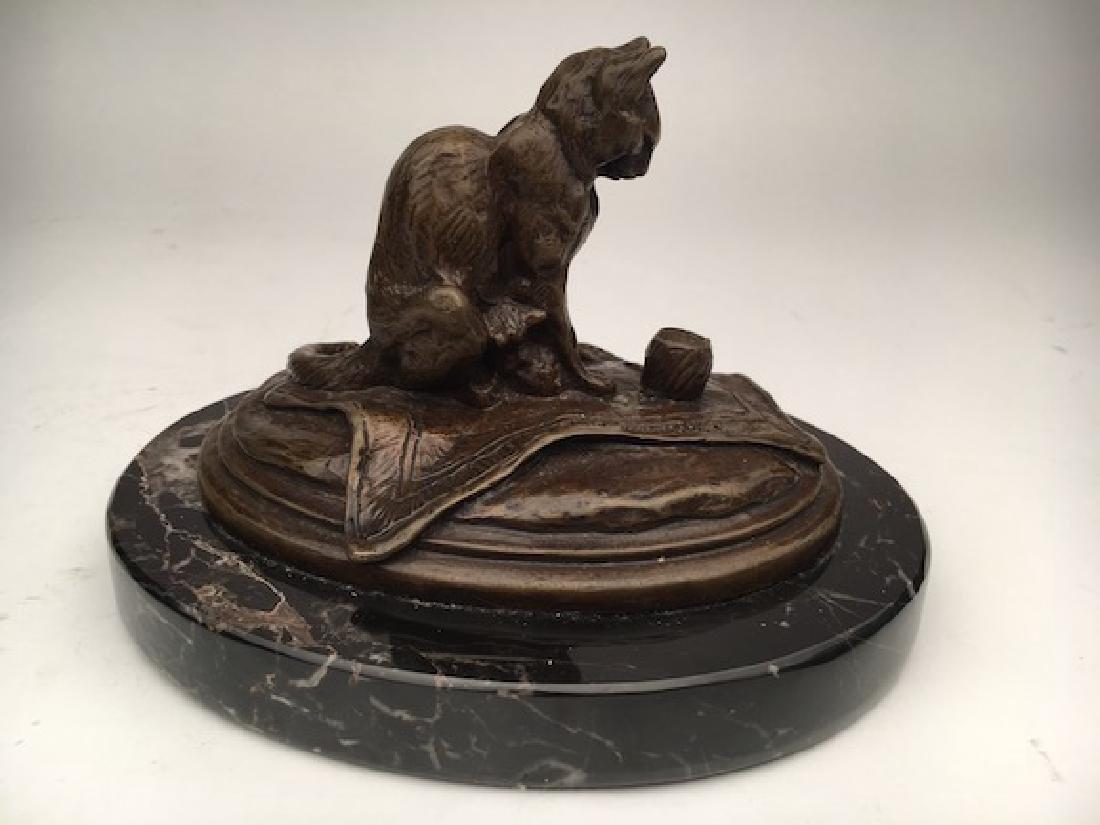Emmanuel Fremiet, (French, 1824-1910). A bronze casting