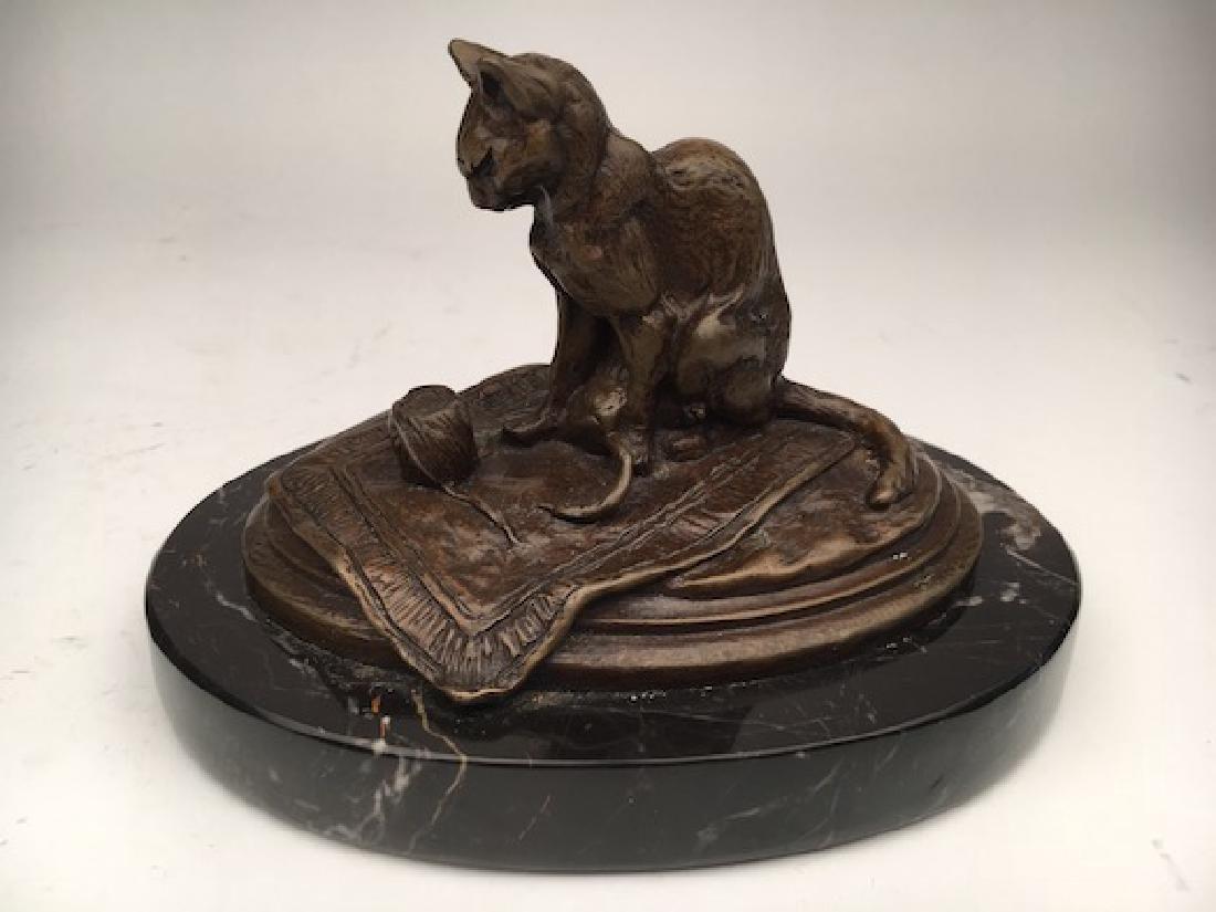 Emmanuel Fremiet, (French, 1824-1910). A bronze casting - 2