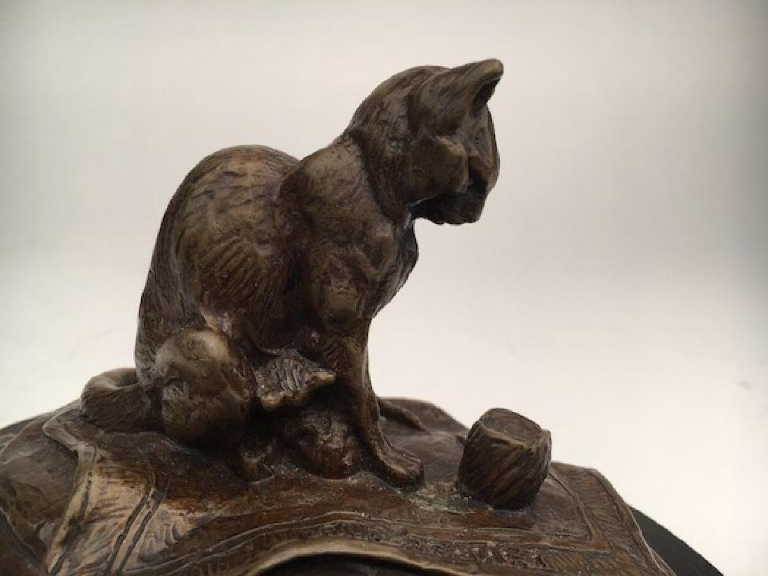 Emmanuel Fremiet, (French, 1824-1910). A bronze casting - 4