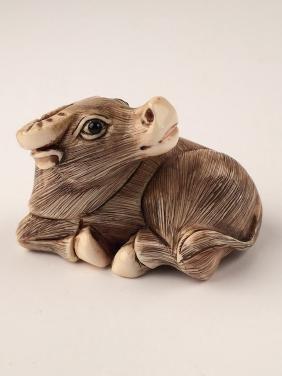 Carved Netsuke.