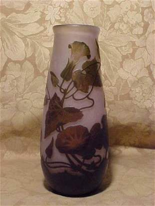 """""""ARSOLF"""" CAMEO VASE. LIGHT AND BROWN COLORS CUT T"""