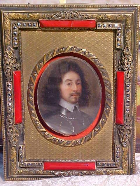 2978: PORTRAIT OF A ROYAL GENTLEMAN. CIRCA 1750. APPROX