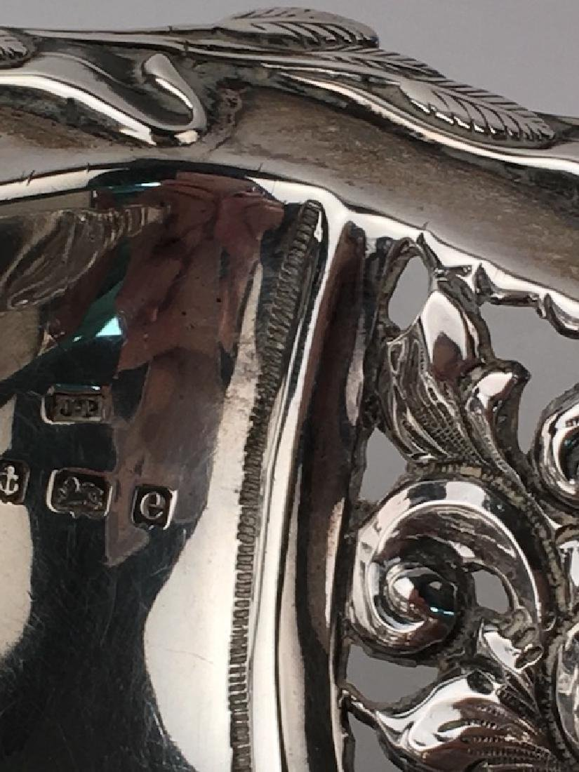 English silver plate serving tray, mug, graver cup and - 3