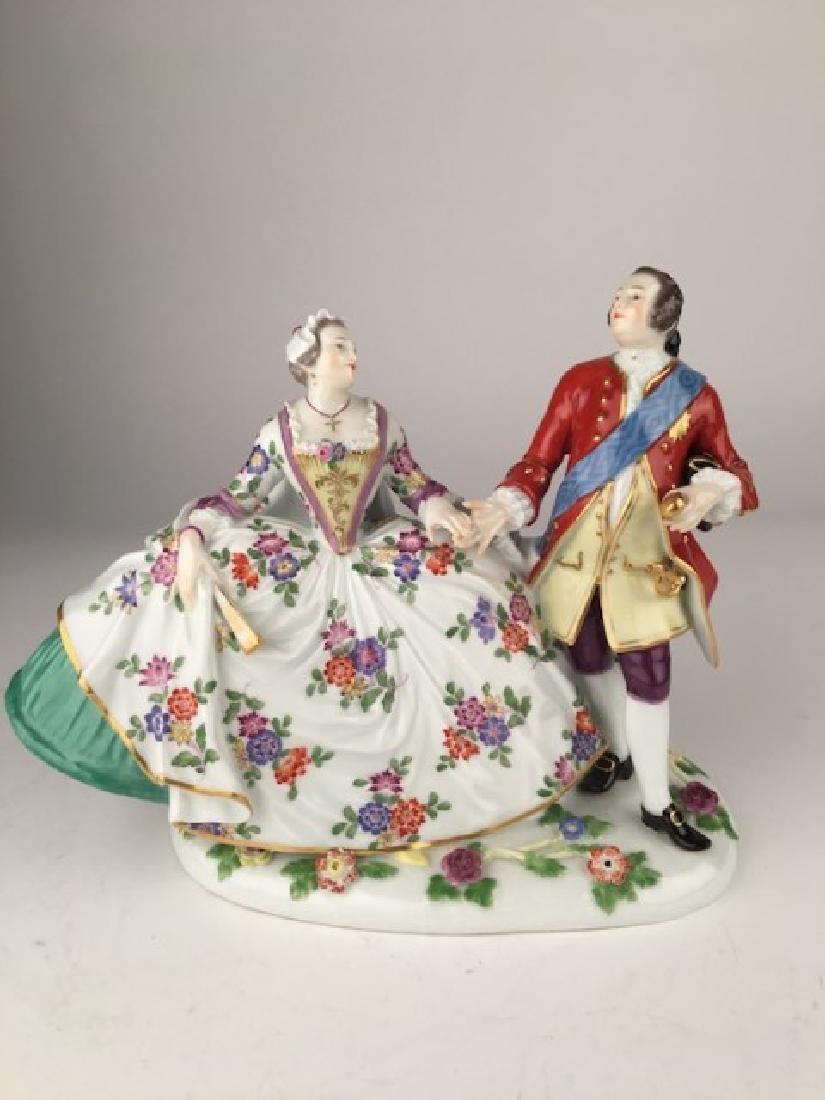 Meissen King Augus III of Poland and wife Maria Joseph