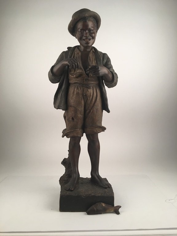 Friedrich Goldscheider, 1845-1897 antique terracotta