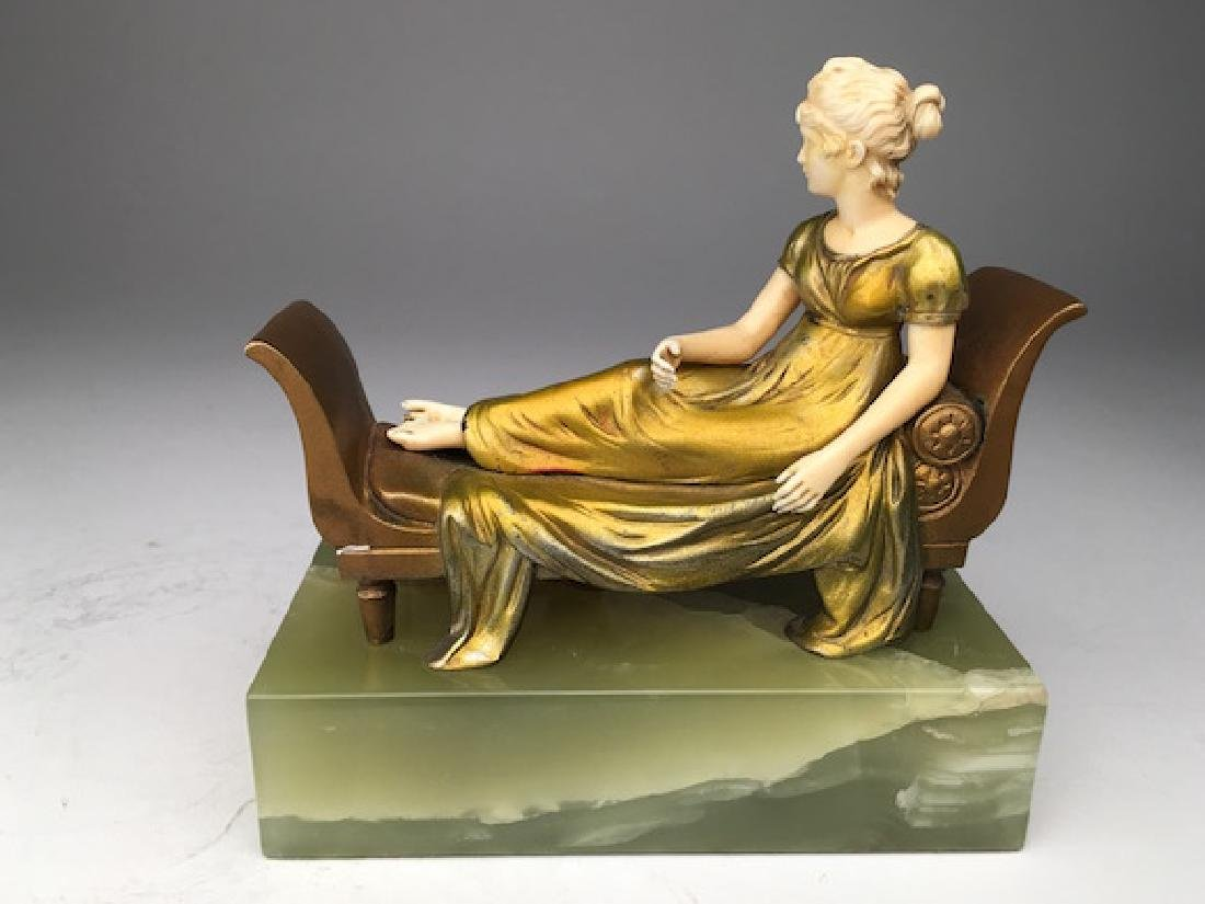 Ferdinand Preiss (German, 1882-1943). Lady in a Chaise
