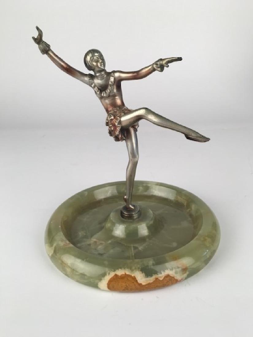 Joseph Lorenzl (Austrian, Born 1892). SIlver bronze