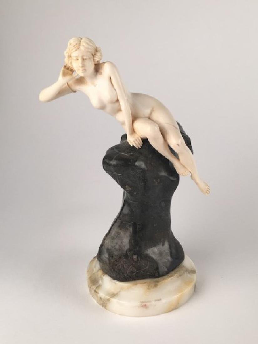 Affortunto Gory (Gori), French art deco sculpture of a